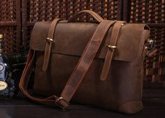 Handmade Men Bags Leather Bag for Men Cool Men Bag by BunnysGoods, $99.00