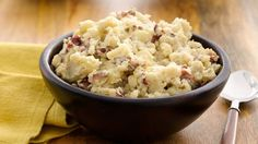 Easy Slow-Cooker Garlic Mashed Potatoes--tweak just a little.
