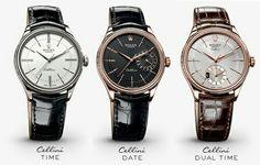 Rolex Cellini time, date, dual time