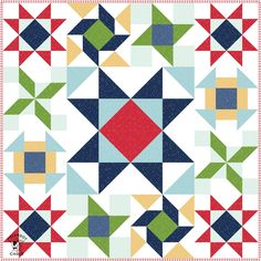 The Salt and Sand Quilt block for the Just for Fun Quilt Along, a free block of the month. Learn how to make a Churn Dash Quilt Block. Star Quilt Blocks, Star Quilts, Block Quilt, Scrappy Quilts, Baby Quilts, Quilt Kits, Mini Quilts, Texas Star, Quilt Block Patterns