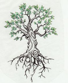 Trees Tattoo Design Family Tree Tattoo Roots Tattoo Tree Of Life Tattoo Life, Arm Tattoo, Sleeve Tattoos, Ankle Tattoo, Trendy Tattoos, New Tattoos, Cool Tattoos, Tatoos, Tree Tattoo Designs