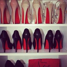 Red bottom heels! if only my closet was full of these!