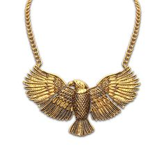 2015 Fashion Alloy Eagle Statement Necklaces&Pendants Necklaces Vintage Brand Jewelry For Women Dress Sweater Casual Gift-in Pendant Necklaces from Jewelry on Aliexpress.com | Alibaba Group
