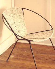 chair with woven wool - Google Search