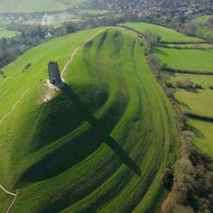 Glastonbury Tor - Glastonbury, Somerset, England