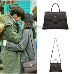 """259 lượt thích, 2 bình luận - @kdrama_fashion trên Instagram: """"Soo Ae carried ROSA K Praha Daily Tote Bag Small_Dolce Wine ₩489,000 in stills from Sweet Stranger…"""" Sweet Stranger And Me, Instagram, Fashion, Moda, Fashion Styles, Fashion Illustrations"""