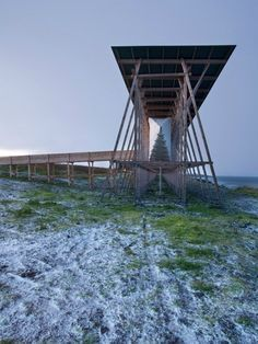 Steilneset Memorial / Peter Zumthor and Louise Bourgeois, photographed by Andrew Meredith,© Andrew Meredith