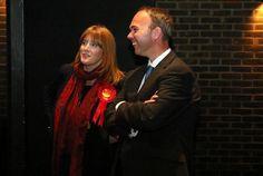 Gavin Barwell and Sarah Jones at the declaration