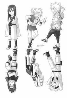 Thank You for mentioning this. Thank You for mentioning this. Anime Naruto, Naruto Team 7, Naruto Comic, Naruto Family, Kakashi Sensei, Naruto Sasuke Sakura, Naruto Shippuden Sasuke, Naruto Funny, Naruto Girls