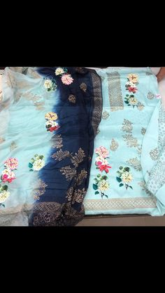 NEW COLLECTION IN HAND PAINTED SUITS ON JAM COTTON.CONT. FOR MORE VARIETY AT 9891403364