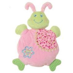 Mary Meyer Cutsie Caterpillar Wooby Chew Teether Rattle Crinkle Activity Toy | eBay