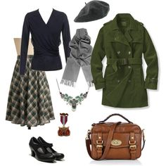 A fashion look from September 2011 featuring Nina Ricci sweaters, Moon Collection skirts and Camper shoes. Browse and shop related looks.