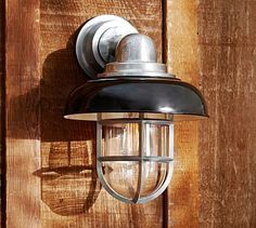 Avalon Indoor/Outdoor Sconce, Set of 2, Black