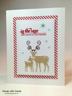 Stamp with Sandy: Walking in a Winter Wonderland Stamp Set, Mama Elephant