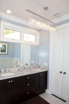 Could I do this in the master bath? contemporary bathroom by Globus Builder Dark Bathrooms, Brown Bathroom, Amazing Bathrooms, Master Bathroom, Master Baths, Wooden Bathroom, Bathroom Rugs, Bathroom Window Treatments, Bathroom Windows