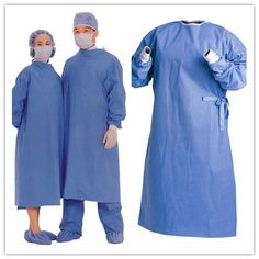 SMS surgical gown material of non-woven surgical gown used for surgeon gown.  Price: $0.199/pc