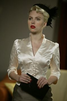 "Scarlette Johansson in ""The Black Dahlia""   I absolutely love her!"