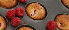 Mini muffins frambozen (12 stuks)