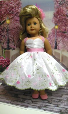 Historical 18 inch doll clothes Pretty for Prom von TheDollyDama
