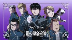 Don't mess with this squad Full metal alchemist brotherhood