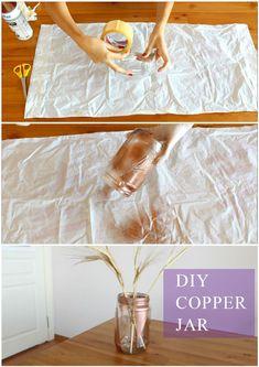 DIY Copper Jar