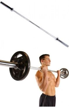 Barbells And Attachments 137864 Home Exercise Equipment Cap Barbell 2 Inch Olympic Weight Bar