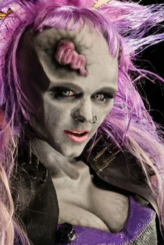Face Off Pictures - View galleries of every episode. See photos from Face Off episodes and see the latest cast photos and more on SYFY! Face Off Makeup, Sfx Makeup, Dead Makeup, Cinema Makeup School, Theatre Makeup, Vampires, Face Off Syfy, Special Effects Makeup Artist, Prosthetic Makeup