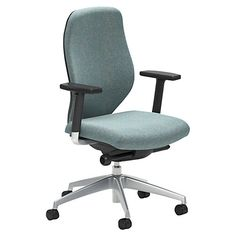 Boss Design App Aluminium Office Chair, Ocean