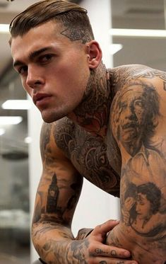 handsome (canvases for guys) Hot Guys Tattoos, Tattoo Guys, Stephen James Model, Cute White Boys, Inked Men, Cute Guys, Beautiful Men, Gorgeous Guys, Male Models