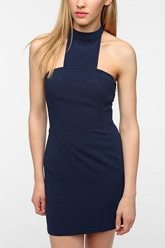 Silence & Noise ~ Structured Crepe Dress