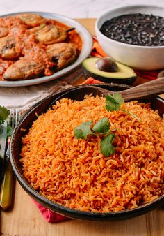 Mexican Rice: An Easy, Authentic 30 Min Recipe Quesadillas, Pasta Mexicana, Mexican Rice Recipes, Easy Mexican Rice, Mexican Fried Rice, Wok Of Life, 30 Min Meals, Vegetarian Chicken, Chinese Vegetables