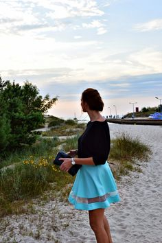 natalie's style: LOOK OF THE DAY: Mint skirt