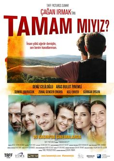 Çağan Irmak'ın yönetmenliğini ve senaristliğini üstlendiği Tamam Mıyız yerli dram filmleri kategorisinde imdb'den 7.1 puan alıyor. Filmi http://www.yerlihd.com/tamam-miyiz-full-izle.html adresinden full hd izleyebilirsiniz. #yerlifilmler #çağanırmakfilmleri #yerlidramfilmleri #filmafişleri