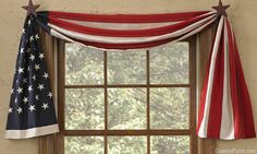 Flag Table Runner/Swag by Park Designs at The Country Porch
