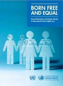 """United Nations Reveals New Worldwide Guide To LGBT Fairness And Safety     """"The United Nations Human Rights Office has released a new publication, Born Free and Equal, that outlines core legal obligations that countries have for their LGBT people. The guide is built around five core expectations: protect people from homophobic violence, prevent torture, decriminalize homosexuality, prohibit discrimination, and safeguard LGBT people's freedoms of expression, association, and peaceful…"""