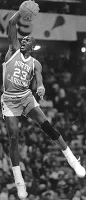 Michael Jordan, University of North Carolina Jordan 23, Michael Jordan Unc, Jeffrey Jordan, Michael Jordan North Carolina, Air Jordan, Basketball Legends, Love And Basketball, Sports Basketball, College Basketball