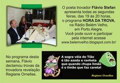 TROVADORES DO BRASIL: Hora Da Trova / Flávio Stefan * Antonio Cabral Fil...