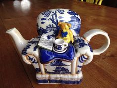 Booths Real Old Willow Teapot Cardew Royal doulton
