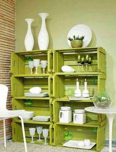 Muebles reciclados con cajones