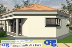 RDM5 House Plan No W2597 Round House Plans, Modern House Plans, House Floor Plans, 2 Bedroom House Plans, Eclectic Bathroom, Modern Contemporary Homes, Bungalow House Design, Tuscan Design, Home Design Plans