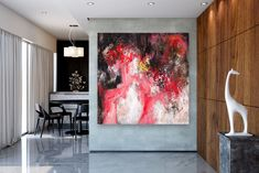 Items similar to Large Modern Wall Art Painting,Large Abstract Painting on Canvas,texture painting,gold canvas painting,gallery wall art on Etsy Painting Bathroom Walls, Bedroom Paintings, Oversized Wall Decor, Large Abstract Wall Art, Abstract Paintings, Texture Painting, Texture Art, Extra Large Wall Art, Large Art