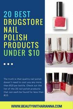 Drugstore Beauty | Natural Drugstore Makeup | Drugstore Makeup Contouring | Drugstore Makeup Looks | Drugstore Makeup Essentials | Drugstore Makeup Tutorial | Top Drugstore Makeup | Makeup Products Drugstore | Drugstore Makeup Best | Great Drugstore Makeup | Drugstore Nail Polish | Drugstore Nails | Drugstore Nail Polish Dupes | Drugstore Nail Polish Swatches #beauty #beautyhacks #beautytips