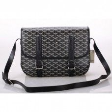 Goyard Messenger Bag MM Black