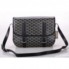 Goyard Messenger Bag MM Black