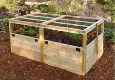 Outdoor Living Today - RB63TO Raised Garden Bed 6 x 3 with Trellis Lid Kit