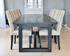 Tuscany spisebord med Trendy stoler6251