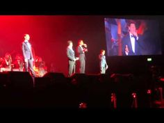 IL Divo  In Dublin Sebs funny speech at the start & I will always love you