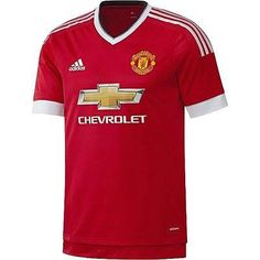 1c3f002f6 Adidas d. beckham manchester united authentic player home adizero jersey  2015 16