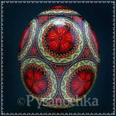Real Ukrainian Pysanky Easter Egg Ostrich Pysanka Hand Made HQ from Roman | eBay