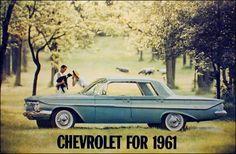 Diagnosed with Nostalgia General Motors, Bel Air, 1961 Impala, Volkswagen, Toyota, Automobile, Car Brochure, Ford, Sports Sedan